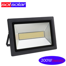 Ultrathin Led flood light 200W 150W 100W 60W 30W 15W Black AC 220V 110V waterproof IP65 Floodlight Spotlight Outdoor Garden Wall