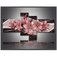 Fashion RRed Lily 5d Diamond Painting Cross Stitch Pattern Diamond Embroidery Mosaic Resin Full Drill Home
