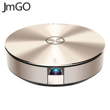JmGO G1S Smartphone Projector DLP Projetor Smart Home Theater Support 1080P 300 inch Hi-Fi Bluetooth Android Proyector Beamer