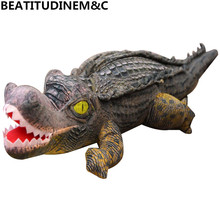 New Simulation Crocodile Plush Toy Doll Doll Cute Doll Hug Pillow Pillow Strip Pillow Christmas Gift Children's Toys Home Decora big toy owl doll plush toys simulation wildlife christmas valentine s day gift home decoration