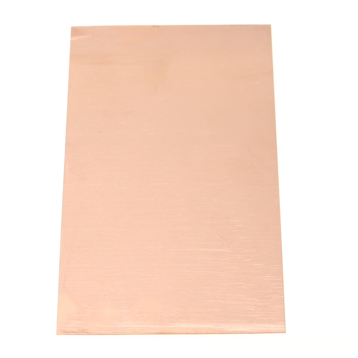 1pc High Purity Copper Cu Metal Sheet Plate Foil Panel 100x200x0.5mm Mayitr For Power Tool 1sheet matte surface 3k 100% carbon fiber plate sheet 2mm thickness