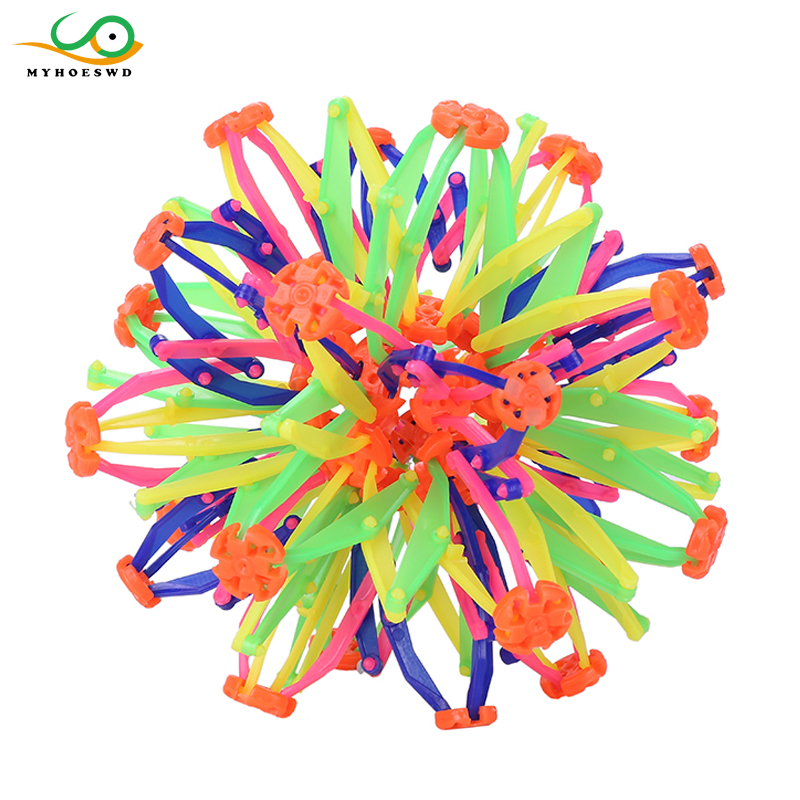 Baby Toys & Activities Children Funny Ball Telescopic Magic Toy Larger and Smaller Blossom Ball Kid