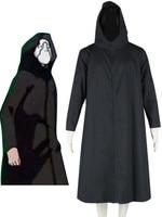 Free shipping Black Naruto Anbu Cosplay Costume
