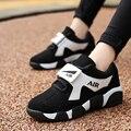 La vaca del bebé invierno de fondo grueso de Corea Del gran código negro y zapatillas de deporte blancas zapatos y zapatos de algodón para hombres y mujeres estudiantes