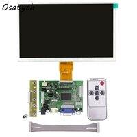Ahududu Pi için 9 Inç 3 LCD Ekran Ekran Matrix TFT Monitör HDMI VGA AV Girişi ile AT090TN12 Sürücü Kartı denetleyici