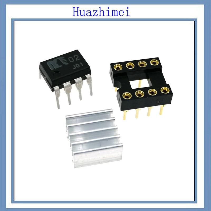 2PCS/LOT NEW JRC MUSES02 MUSES01 DIP8 DIY HIFI Operational Amplifier цены онлайн