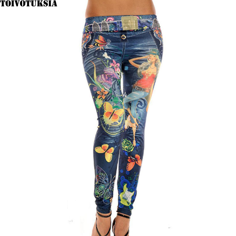 TOIVOTUKSIA Women Leggings Jeggings Pants Women Leopard Belt Colorful  Printed Leggings(China) - Online Buy Wholesale Colored Jeggings From China Colored Jeggings