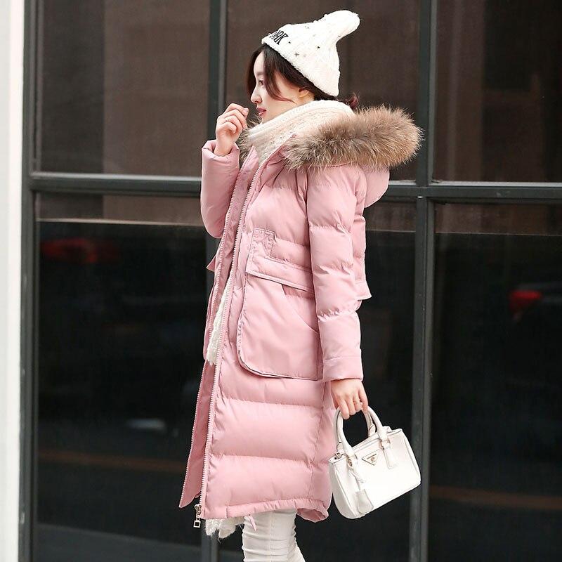 Womens Pink Winter Jacket - Coat Nj
