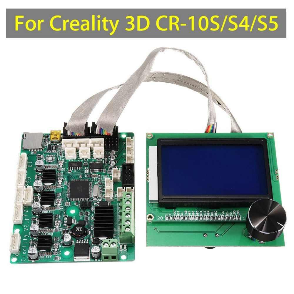 طابعة 3d ترقية اللوحة وحة التحكم + شاشة lcd ل creality CR-10S/s4/s5