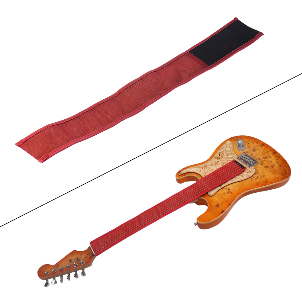 hot electric guitar strings fretwire anti rust rust protect belt fabric protective cover. Black Bedroom Furniture Sets. Home Design Ideas
