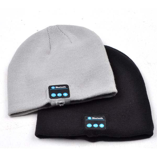 746eb60e9ac Soft Warm Beanie Hat Wireless Bluetooth Smart Cap Headset Headphone Speaker  Mic