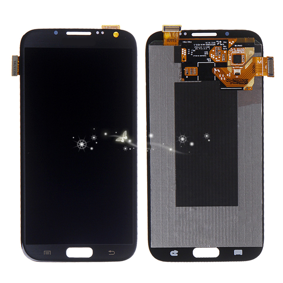A Replacement LCD Touch Screen Digitizer For Samsung Galaxy Note 2 N7100 T889 i317 N7105 free shipping