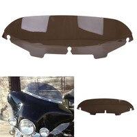 Motorcycle Smoke Dark 5 Windscreen Windshield For Harley Electra Street Glide Touring FLH C 5