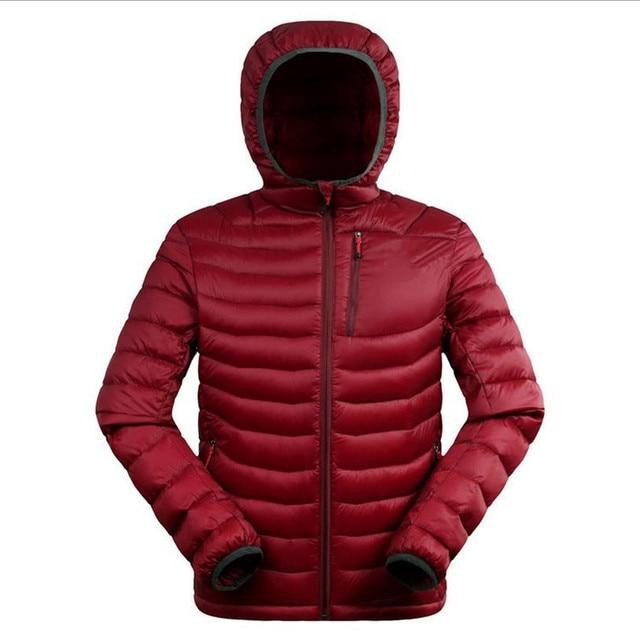 М-3XL Плюс szie 2016 зима мужская 90% утка вниз теплая куртка Бизнес классическая коллекция пуховик теплый вниз парки w1552