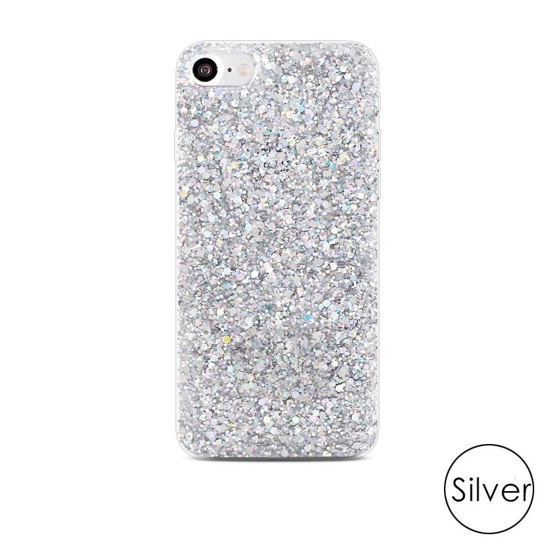 HTB1R59uairxK1RkHFCcq6AQCVXaM - Gurioo Silicone Bling Glitter Crystal Sequins Hard shell Phone Case For iPhone 11 5 SE 6 6S 7 8 X Plus XR XS Max Protective Case