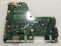 KEFU Per ASUS X551CA F551C Computer Portatile Per La scheda madre mainboard X551CA REV2.2 cpu I3 3217u 4 GB 60NB0340-MB6030 a bordo 100% di prova