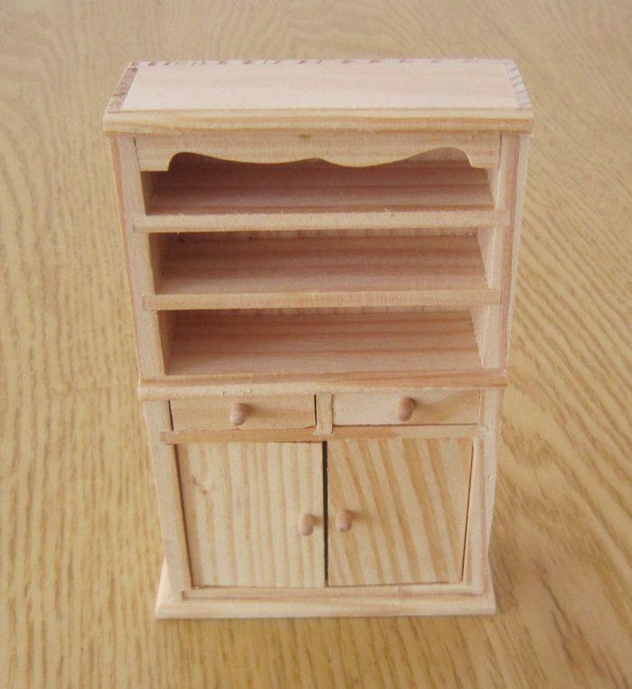 Handmade Wooden Cabinet Furniture Model Nostalgic Antique Home