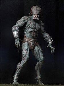 Image 5 - New NECA Original the Predator Armored Assassin PVC Action Figure 23cm Movie the Predator Figure Collectible Model Toy