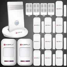 Kr-g15 беспроводной GSM сигнализация авто-диск главная безопасный охранной сигнализации системы IOS android-iphone APP управления