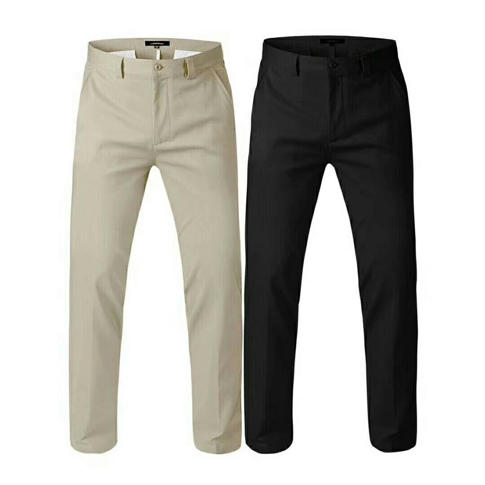 Spring autumn men's High quality Golf sports pants men cotton breathable comfortable straight legged trousers golf Sportswear 40