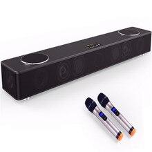 Wooden Center Speaker Box 5.1 TV Soundbar Home Theater Karaoke System Cinema Audio Bluetooth Music Column Soundtrack