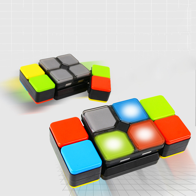 Upgraded version of electronic music Variety Rubik's cube toy parent-child interactive creative flip pressure artifact sale