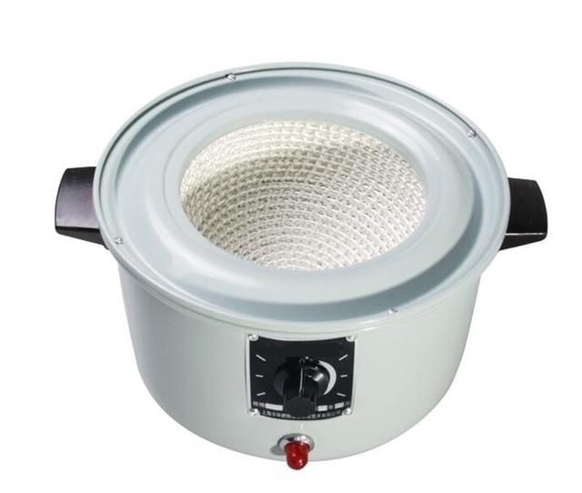 1000 ml 400 W Laboratuvar Elektrikli ısıtma mantosu Termal Regülatörü Ayarlanabilir Ekipmanları 220 V