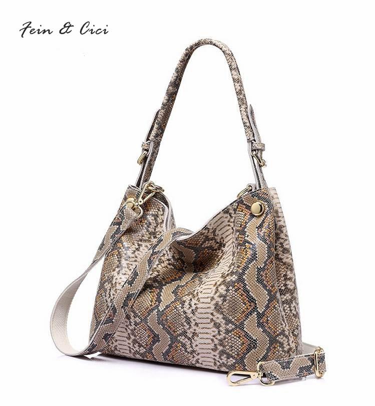 100% genuine leather shoulder bag crocodile pattern leather hobos women large serpentine handbag autumn winter 2017 new arrivals 2016 new hobos 100
