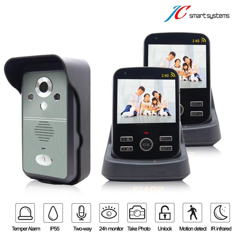 Digital videoportero font b door b font phone font b camera b font doorbell intercom wireless