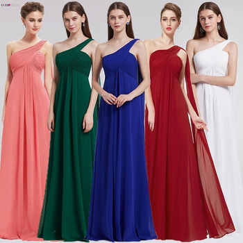 Evening Dresses Ever Pretty EP09816 One Shoulder Ruffles Padded Special Occasion Weddings Events Long 2020 New Evening Dress