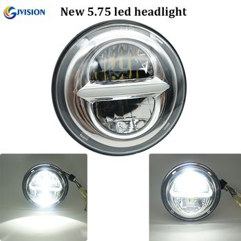 2018 Newest 5 3/4''motorcycle led headlight 50W Hi/Lo DRL 5.75 projector headlamp for Dyna Sportster 1200 72 48