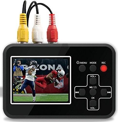 DIGITNOW видеосъемки Vhs цифровой преобразователь записывает видео ленты на карту памяти.