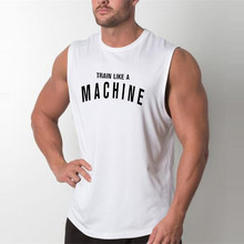 Brand Mens Tank Tops Sexy Fitness Bodybuilding Breathable Summer Singlets Slim Fitted Men's Tees Muscle Sleeveless Shirt(China)