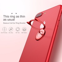 Baseus Metal Finger Ring Phone Holder For iPhone XS Max 360 Degre Mount Mobile Phone Holder Stand for Magnetic Car Phone Holder 1