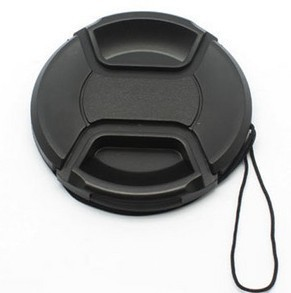 Camera <font><b>Lens</b></font> <font><b>Cap</b></font> For Canon Nikon Protection Cove 49 52 58 62 <font><b>67</b></font> 72 77MM With Anti-lost Rope image