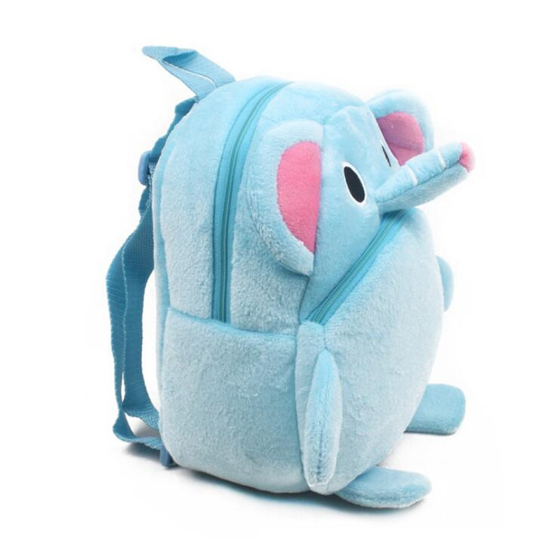 New-Arrival-Cute-Baby-Elephant-Cartoon-Plush-Children-Backpacks-Kids-School-Bags-Christmas-Gifts-3