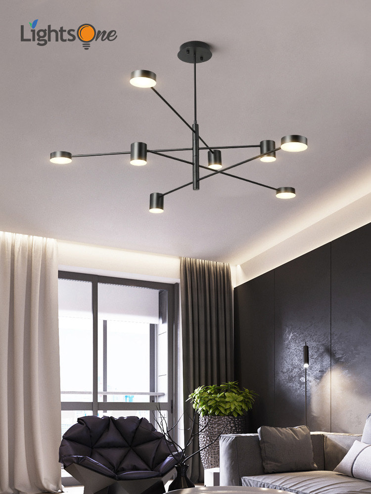 Us 112 0 20 Off Simple Modern Pendant Lights Living Room Atmospheric Home Restaurant Creative Personality Nordic Bedroom Lamp In