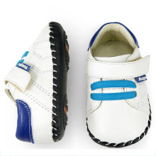 Baby Shoes Infant Boys Girl Polo Toddler Leather Baby Moccasins Walker Baby Schoentjes Bootees First Shoes Footwear 503035(China)