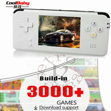 16GB RS-97 RETRO Handheld Game Console Portable Mini Video Gaming Players MP4 MP5 Playback Built-in 3000 Childhood Games Gifts(China)