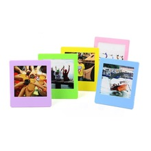 5x Colorful Photo Decor Borders Stand Frame Set for Instax Square SQ10 SQ20 SQ6 SP3 Camera Films
