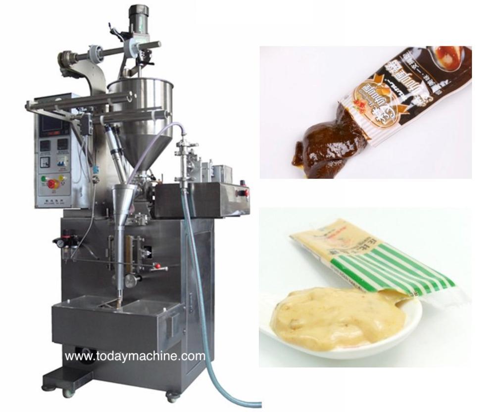 Automatic Syrup/honey/jam/ketchup/shampoo Liquid Blister Packing Machine