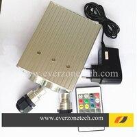LED 25 Watt Fiber Optic Lichtquelle RGB Farben Doppelstecker Twinkle Wirkung mit RF Fernbedienung|fiber optic|fiber optic lightoptic light -