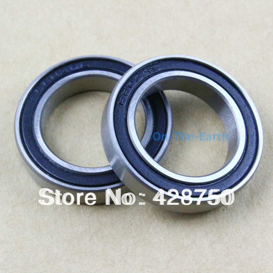 6803 2RS Si3N4 Ceramic Ball Bearing Rubber Sealed For Bike 17x26x5mm 61803
