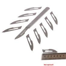 Хирургического режущего скальпеля углеродистой печатной платы инструмента лезвия компл. ремонт #
