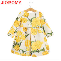 2016 New Summer Girl S Flower Dress And Hat Out Of The Suite Bow Butterfly Floral