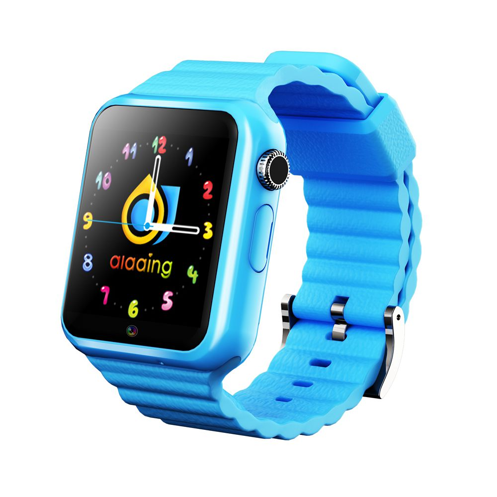 V7w Children's Smart Watch GPS Real-time Positioning SOS Child Safety Smart Watch Support SIM Card Location Finder Tracker