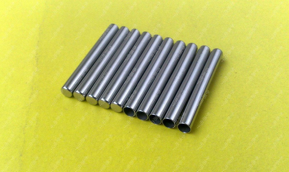 Free Shipping 500PCS/Lot  5*25MM 304L Stainless Steel Probe For Temperature Sensor Sleeve Stainless Steel Pipe Metal  Sleeve