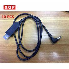 XQF 10 PCS Baofeng UV5R USB Battery Charger For Portable Two Way Radio Walkie Talkie Uv-5r Uv-5re 5RB Uv-5ra Accessory