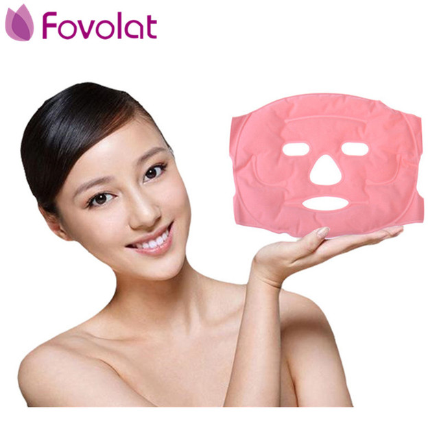 Tourmaline Magnetic Face Mask Anti Wrinkle Face Lift Up Heating Pad Facial Patch Skin Care Tools Relaxation Beauty Products
