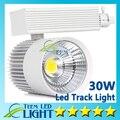 Ce RoHS COB Led faixa de luz 30 W local de poupança de energia lâmpada de parede de rastreamento 85 - 265 V iluminação Soptlight DHL frete grátis